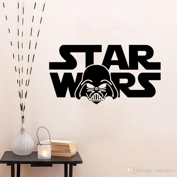 Freedhl 3D Star Wars Through Wall Stickers Creeper Decorative Inside 3D Wall Art Words (Image 15 of 20)