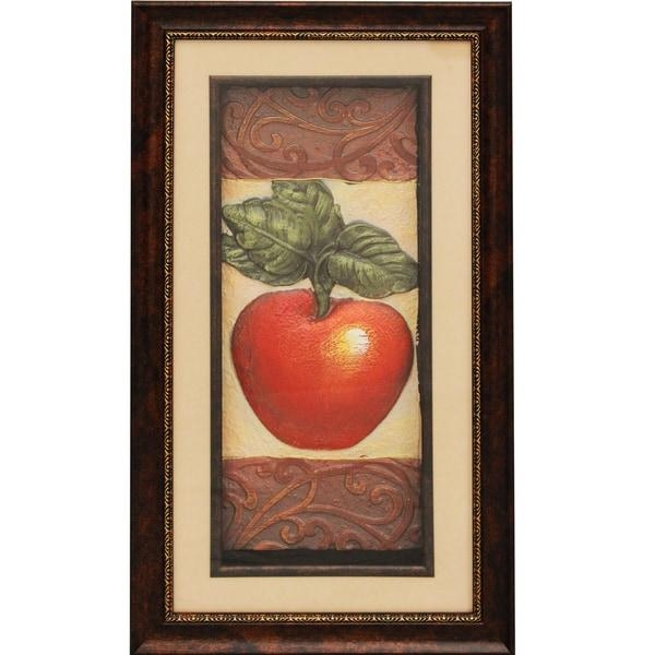 Fruit' 3D Framed Metal Art Prints (Set Of 2) – Free Shipping Today In Framed 3D Wall Art (Image 11 of 20)