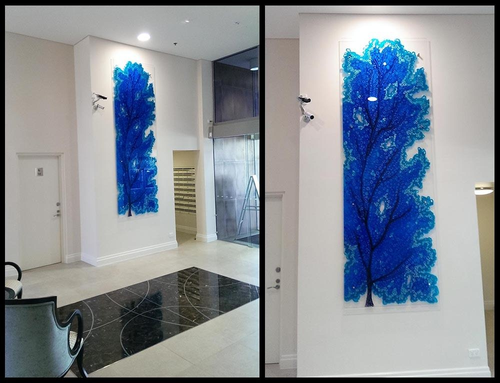 Glass Art Gallery Gold Coast, Australia | Glass Xpressions Glass Inside Gold Coast 3D Wall Art (Image 15 of 20)