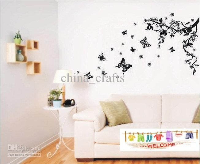 Home Decor Wall Art Stickers – Sellabratehomestaging Pertaining To 3D Removable Butterfly Wall Art Stickers (View 11 of 20)