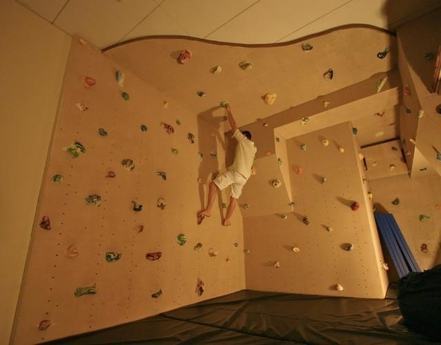 How To Install A Climbing Wall In Your Home For Home Bouldering Wall Design (Image 15 of 20)