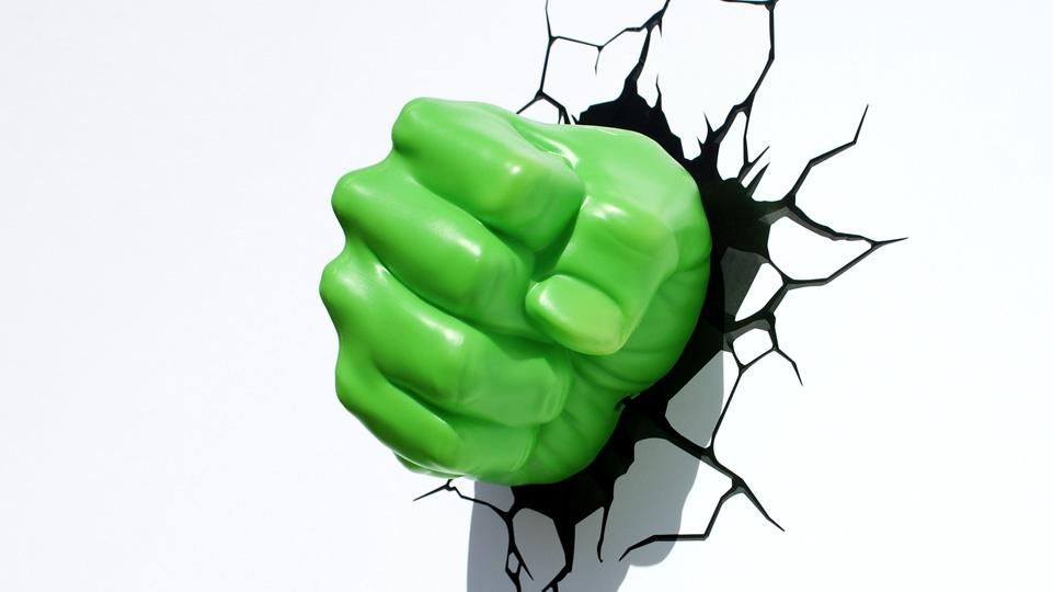 Hulk Fist | 3Dlightfx In Hulk Hand 3D Wall Art (Image 8 of 20)