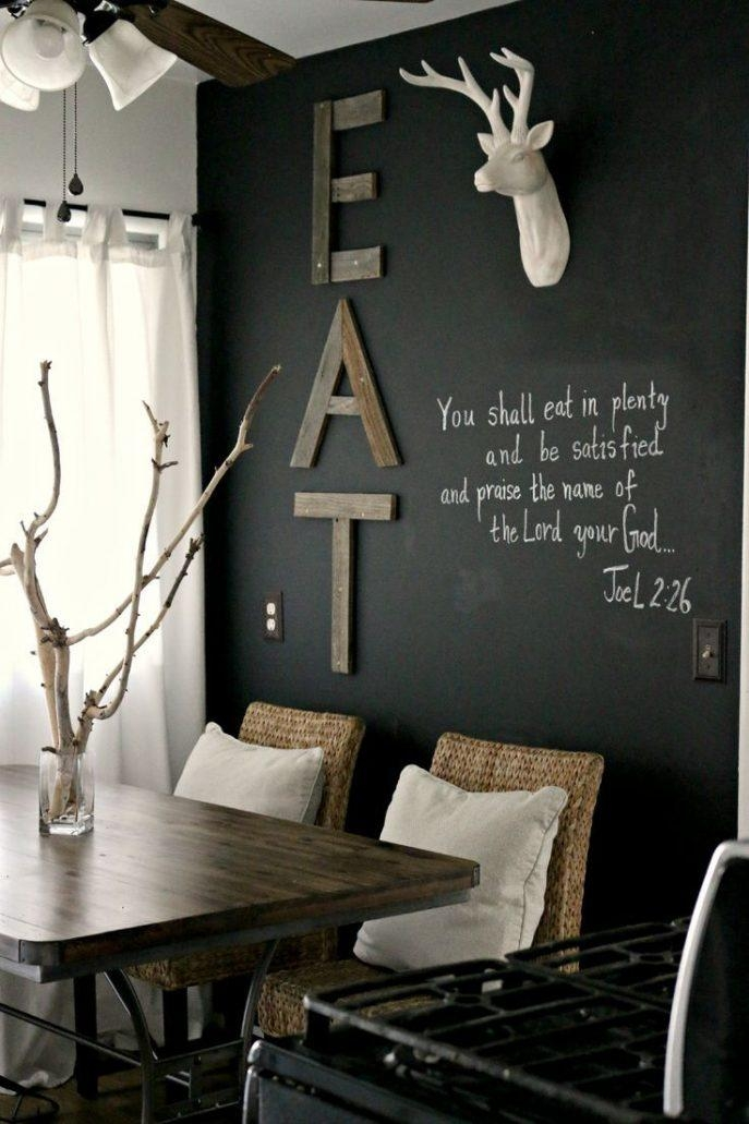 Kitchen Decorating : Kitchen Words Wall Art Wall Painting Stickers For 3D Wall Art Words (Image 17 of 20)