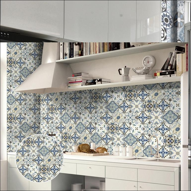 Kitchen : Stickers Wall Contact Paper Kitchen Cabinets 3D Wall Art Throughout 3D Wall Art Walmart (View 8 of 20)