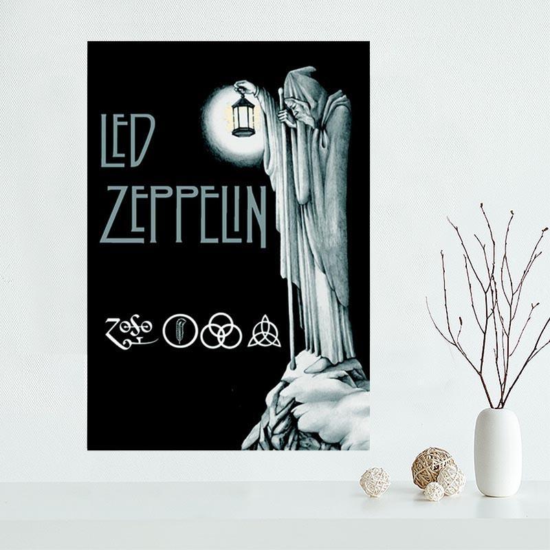 Led Zeppelin 3D Wall Art | Wallartideas In Led Zeppelin 3D Wall Art (Image 11 of 20)