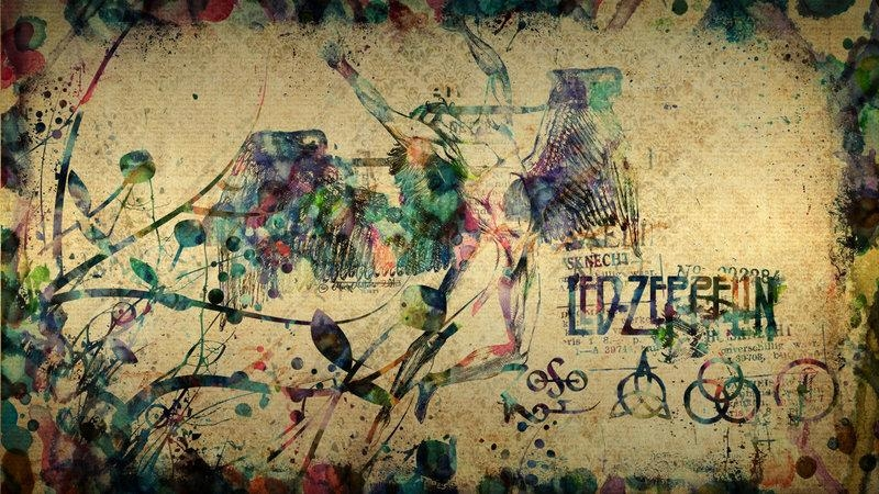 Led Zeppelin Wallpapersoulmarin On Deviantart Throughout Led Zeppelin 3D Wall Art (Image 17 of 20)