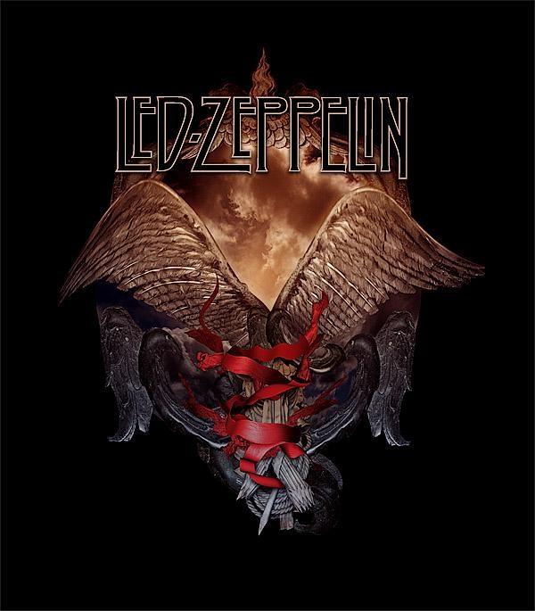 Led Zeppelin – Wings Armourdamnengine On Deviantart Intended For Led Zeppelin 3D Wall Art (Image 9 of 20)