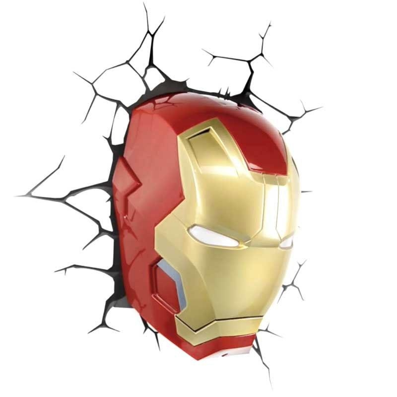 Lighting – Wall Lights – Contemporary Simple Fashion Led 3D Within Iron Man 3D Wall Art (Image 13 of 20)