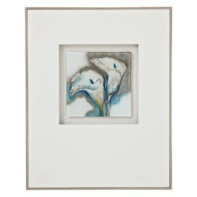 Majestic Style One Beautiful Floral 3D Glass Wall Art – 2419 Throughout 3D Glass Wall Art (Image 8 of 20)