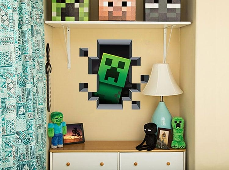 Minecraft 3D Wall Art Creates A Portal To Mine More Gold Regarding Minecraft 3D Wall Art (Image 6 of 20)
