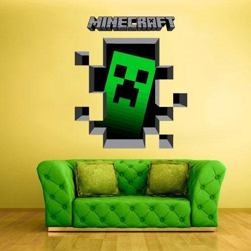 Minecraft 3D Wall Art Uk | Wallartideas Inside Minecraft 3D Wall Art (Image 10 of 20)