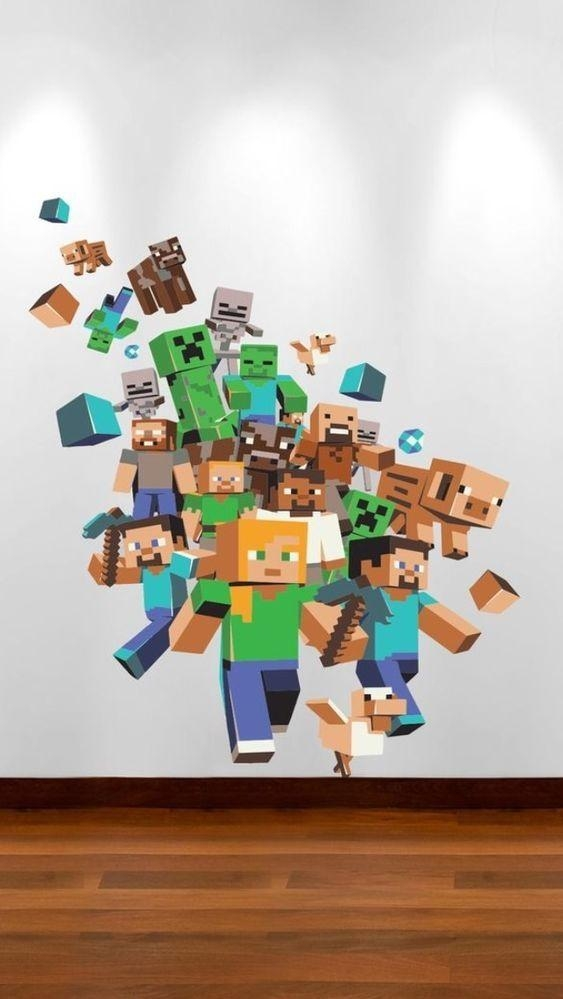 Minecraft 3D Wall Art Uk | Wallartideas Within Minecraft 3D Wall Art (Image 14 of 20)