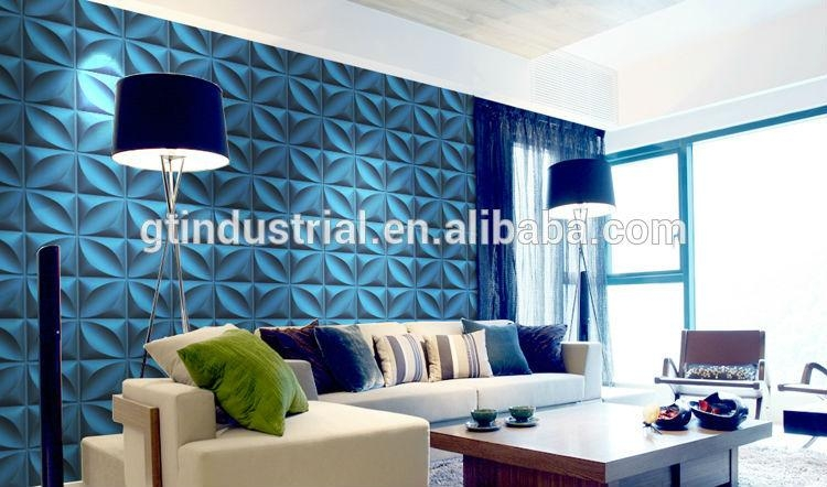 Moder Material Polyester Resin Wall Panels, Polyester Plastic 3D Regarding 3D Plastic Wall Panels (Image 10 of 20)