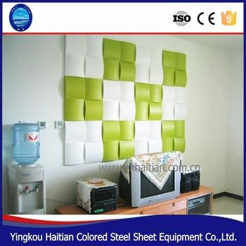 Modern Lightweight Wall Panel Art Decor Pvc 3D Wall Covering Pertaining To 3D Plastic Wall Panels (Image 12 of 20)