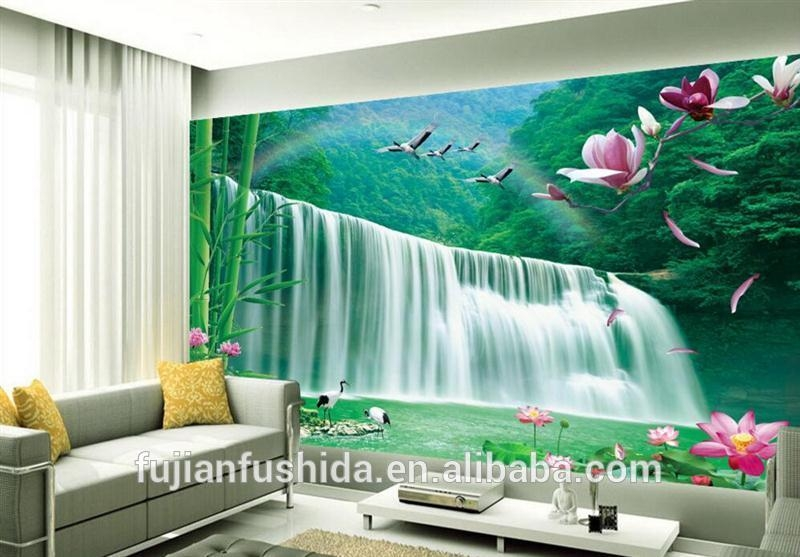 Natural Material Wallpapers 3D Wallart Wall Art Wallpaper Murals With Regard To 3D Wall Art Wallpaper (Image 14 of 20)