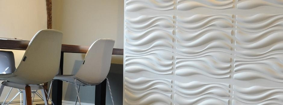New Waves Design Introduction Of Eco Friendly 3D Wallpanels Intended For Waves 3D Wall Art (Image 10 of 20)