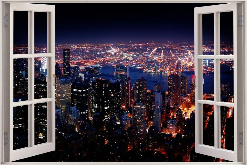 New York 3D Wall Art | Wallartideas Intended For New York 3D Wall Art (Image 1 of 20)