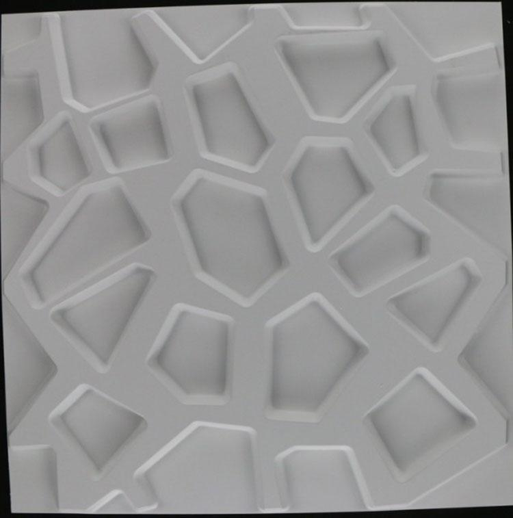 Nice Waterproof High Quality Wall Panels Creativity Decorative In 3D Plastic Wall Panels (Image 13 of 20)
