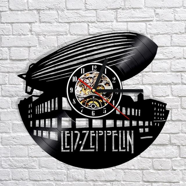 Online Shop Free Shipping 1Piece Led Zeppelin Vinyl Record Wall Pertaining To Led Zeppelin 3D Wall Art (View 11 of 20)