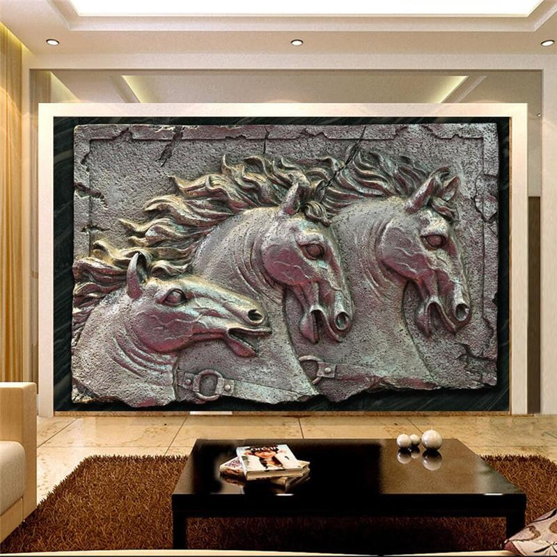20 best collection of metal wall art decor 3d mural wall art ideas. Black Bedroom Furniture Sets. Home Design Ideas