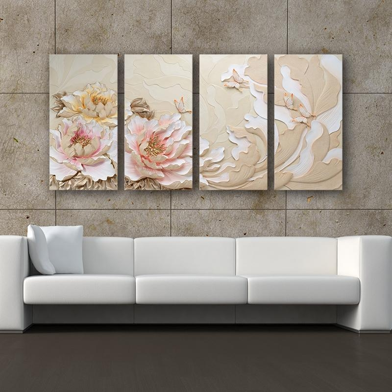 Promotion Decorative Panels 3D Graceful Ideas Unique 3D Wall Art Pertaining To Unique 3D Wall Art (Image 13 of 20)