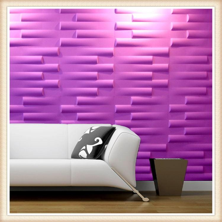 Pvc Wall Panels Pertaining To Painting 3D Wall Panels (Image 16 of 20)