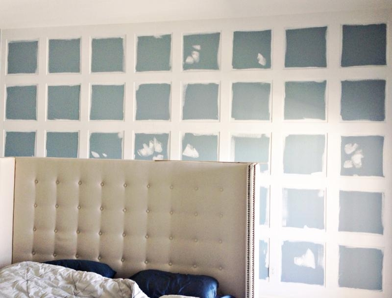 Remodelaholic | Board And Batten Feature Wall With 3D Wall Panels For Painting 3D Wall Panels (Image 18 of 20)