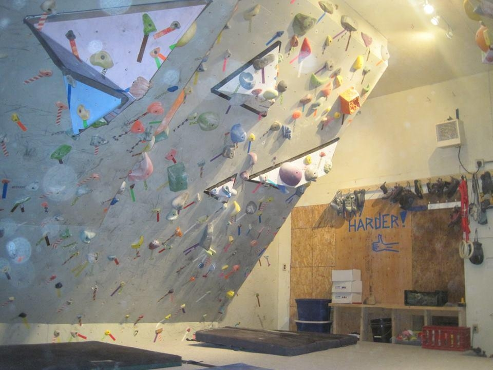 Inspirations home bouldering wall design art ideas