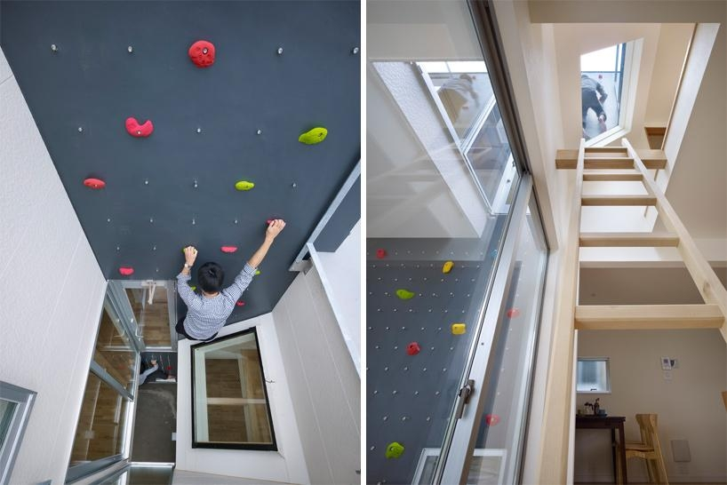 Rock Climbing Wall House Japan – Dma Homes | #20934 Intended For Home Bouldering Wall Design (Photo 14 of 20)