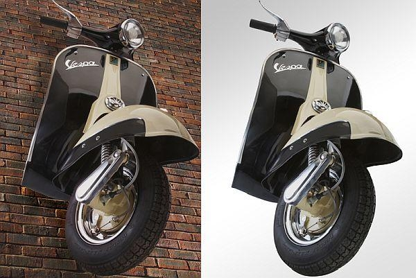 Featured Image of Vespa 3D Wall Art