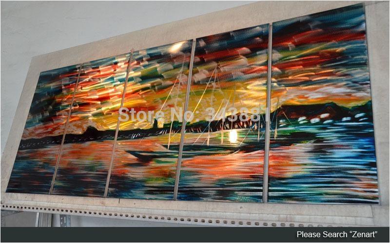 Shining 3D Metal Wall Art 100% Handmade Painting Sculpture Indoor Within 3D Garden Wall Art (View 19 of 20)
