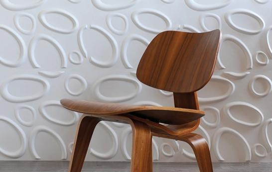 Splashes And Ellipses: 3D Wall Décor Panelswallart – 3Rings Intended For 3D Wall Panels Wall Art (Image 13 of 20)