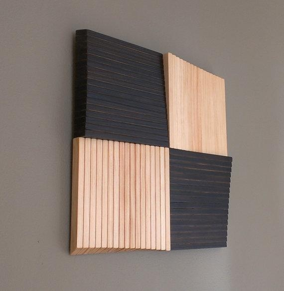 Square Pinwheel 3D Wood Wall Art 15% Off Wall Art With Promo For Wood 3D Wall Art (Image 12 of 20)