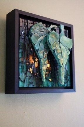 Stained Glass Wall Art – Foter With 3D Glass Wall Art (Photo 3 of 20)