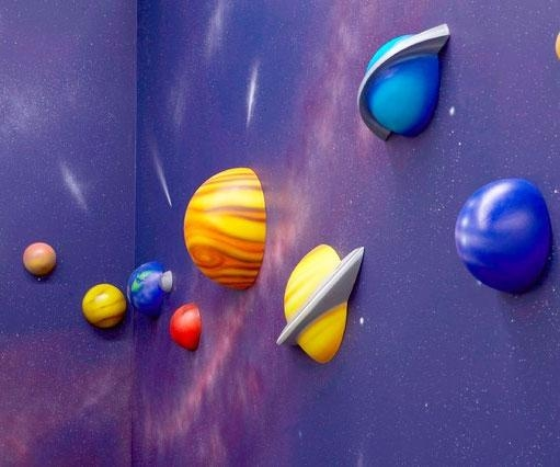 System 3D Wall Art Regarding 3D Solar System Wall Art Decor (Image 15 of 20)