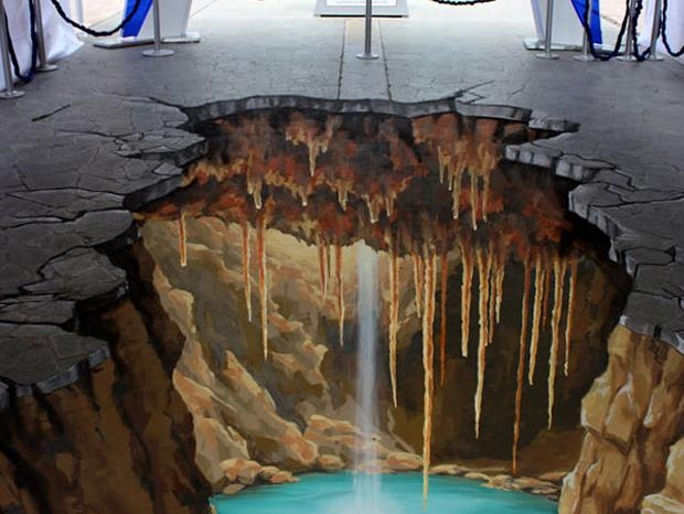 The Top 5 Most Talented 3D Painting Artists (Photo Gallery) With 3D Artwork On Wall (Image 20 of 20)