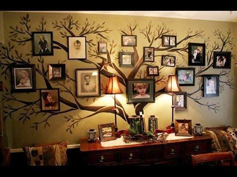 Tree Wall Art – Metal Evergreen Tree Wall Ar – Youtube For Bed Bath And Beyond 3D Wall Art (Image 15 of 20)
