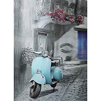 Vespa 3D Wall Art | Wallartideas Inside Vespa 3D Wall Art (Image 17 of 20)