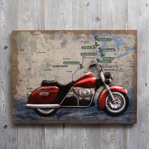Vespa 3D Wall Art | Wallartideas Regarding Vespa 3D Wall Art (Image 18 of 20)
