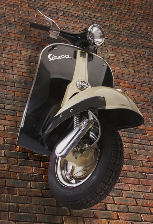 Vespa 3D Wall Art | Wallartideas Throughout Vespa 3D Wall Art (Image 19 of 20)