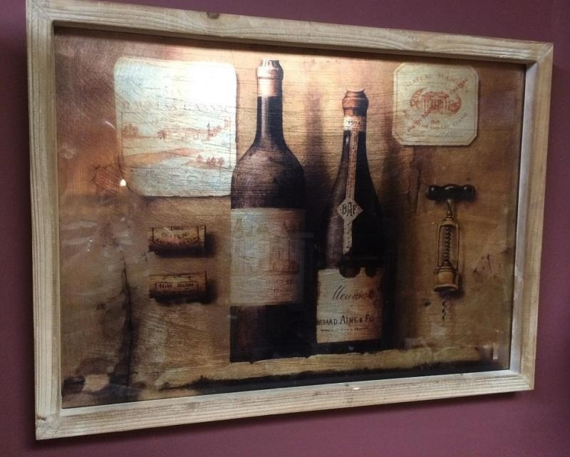 Vintage Winemaker's 3D Wall Art Painting | Mulberry Moon In Vintage 3D Wall Art (Image 17 of 20)