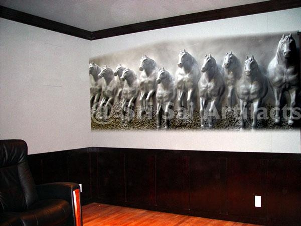 Wall 3D Art | Fiberglass Statue | Bas Relief Sculpture | Fiber In Bangalore 3D Wall Art (Image 13 of 20)
