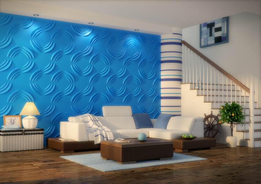 Wall Art 3D Zidni Paneli | Wallartideas Intended For Vidella 3D Wall Art (Image 15 of 20)