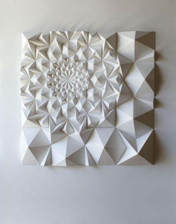 Wall Art Design Ideas : 3D Printed Wall Art – Best 3D Printed Wall Pertaining To 3D Triangle Wall Art (Image 20 of 20)
