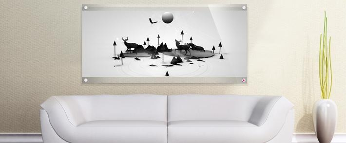Wall Art Designs: Acrylic Wall Art New Style Acrylic 3D Effect Within 3D Effect Wall Art (Image 20 of 20)