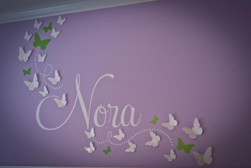 Wall Art Ideas In Baby Nursery 3D Wall Art (Image 19 of 20)