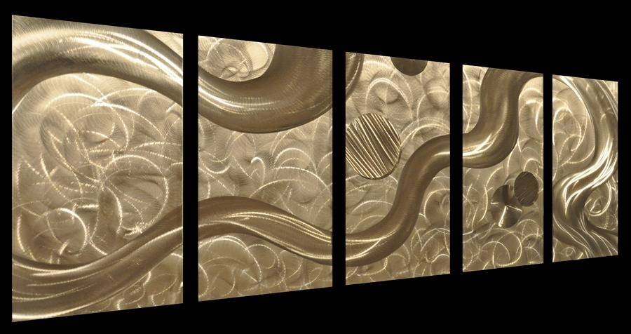Wall Art Ideas In Metal Wall Art Decor 3D Mural (Image 14 of 20)