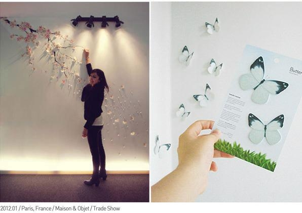 Wall Art Ideas Inside Diy 3D Wall Art Butterflies (View 8 of 20)
