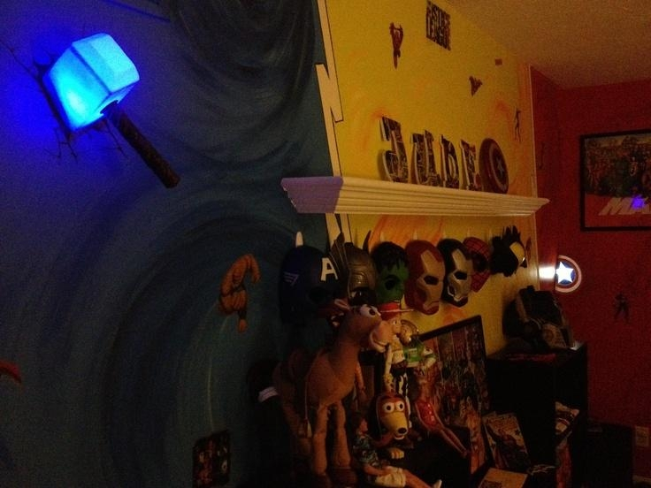 Wall Art Ideas Inside Thor Hammer 3D Wall Art (View 14 of 20)