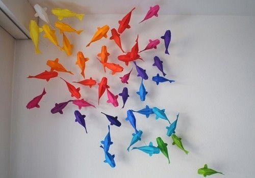 Wall Art Ideas Pertaining To Fish 3D Wall Art (Image 17 of 20)